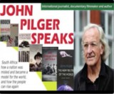 John Pilger delivers the Abdulhay Ahmed Saloojee Trust Memorial Lecture